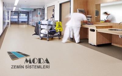 pvc hastane zemin kaplama