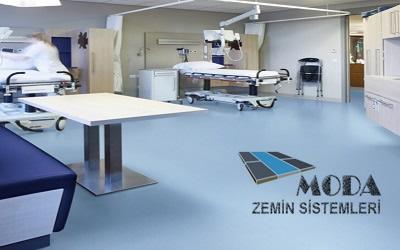 pvc hastane oda zemin kaplamaları